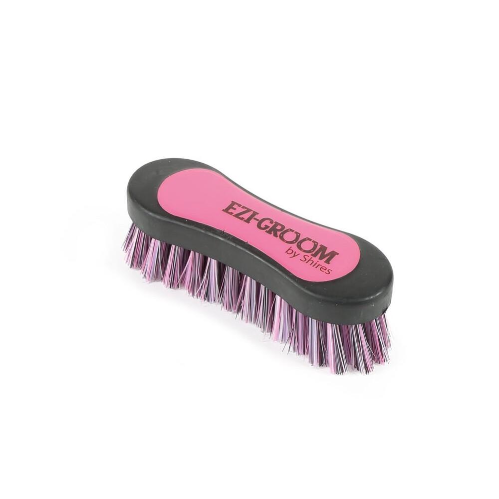 Ezi-Groom EZI-GROOM Grip Hoof Brush in Bright Pink