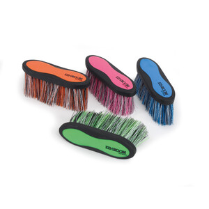 Ezi-Groom EZI-GROOM Grip Long Bristle Dandy Brush in Lime Green