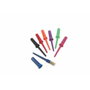 Ezi-Groom EZI-GROOM Plastic Hoof Oil Brush in Red