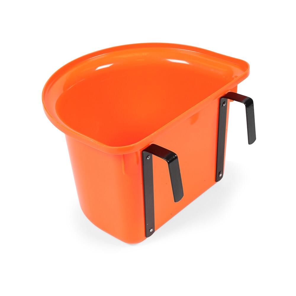 Ezi-Kit EZI-KIT Hook Over Portable Manger in Orange