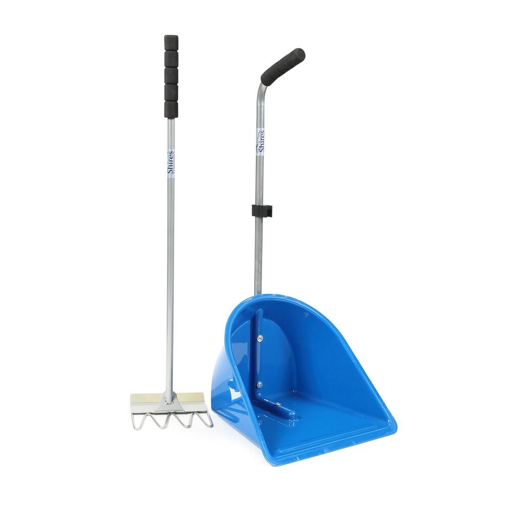 Ezi-Kit EZI-KIT Manure Scoop in Blue