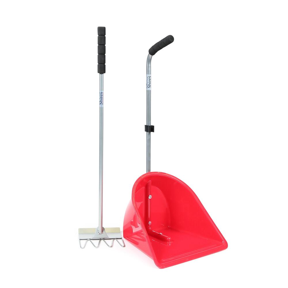 Ezi-Kit EZI-KIT Manure Scoop in Red