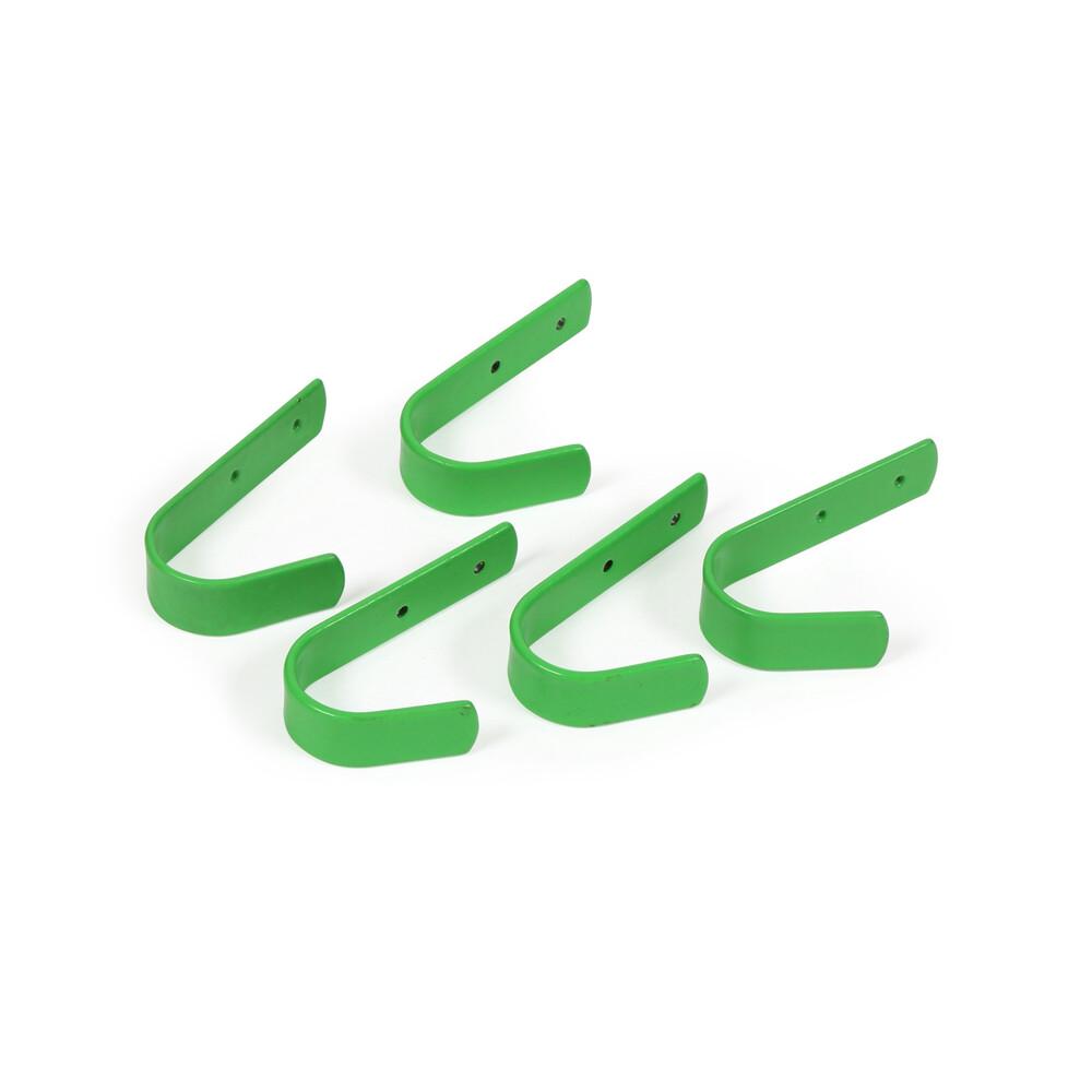 Ezi-Kit EZI-KIT Stable Hooks Small Set of 5 in Green