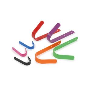 Ezi-Kit EZI-KIT Stable Hooks Small Set of 5 in Grey