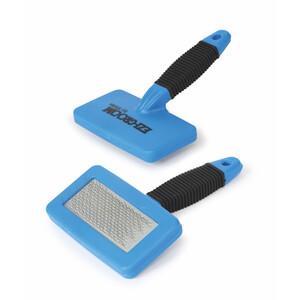 Shires EZI-GROOM Hook And  Loop Cleaner in Blue