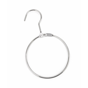 Shires Display Rings With Hook in Chrome