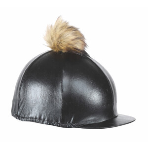 Shires Metallic Hat Cover in Black