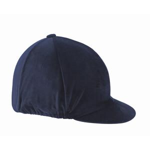 Shires Velvet Hat Cover - in Navy