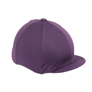 Shires Hat Cover in Plum