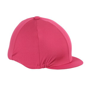 Shires Hat Cover in Raspberry