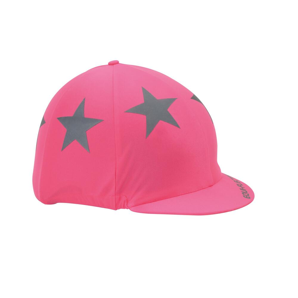 Equi-Flector EQUI-FLECTOR - Hat Cover in Pink
