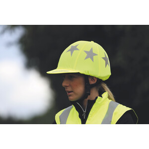 Equi-Flector EQUI-FLECTOR - Hat Cover in Yellow
