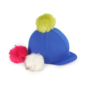 Shires Fun Switch It Hat Cover in Royal Blue