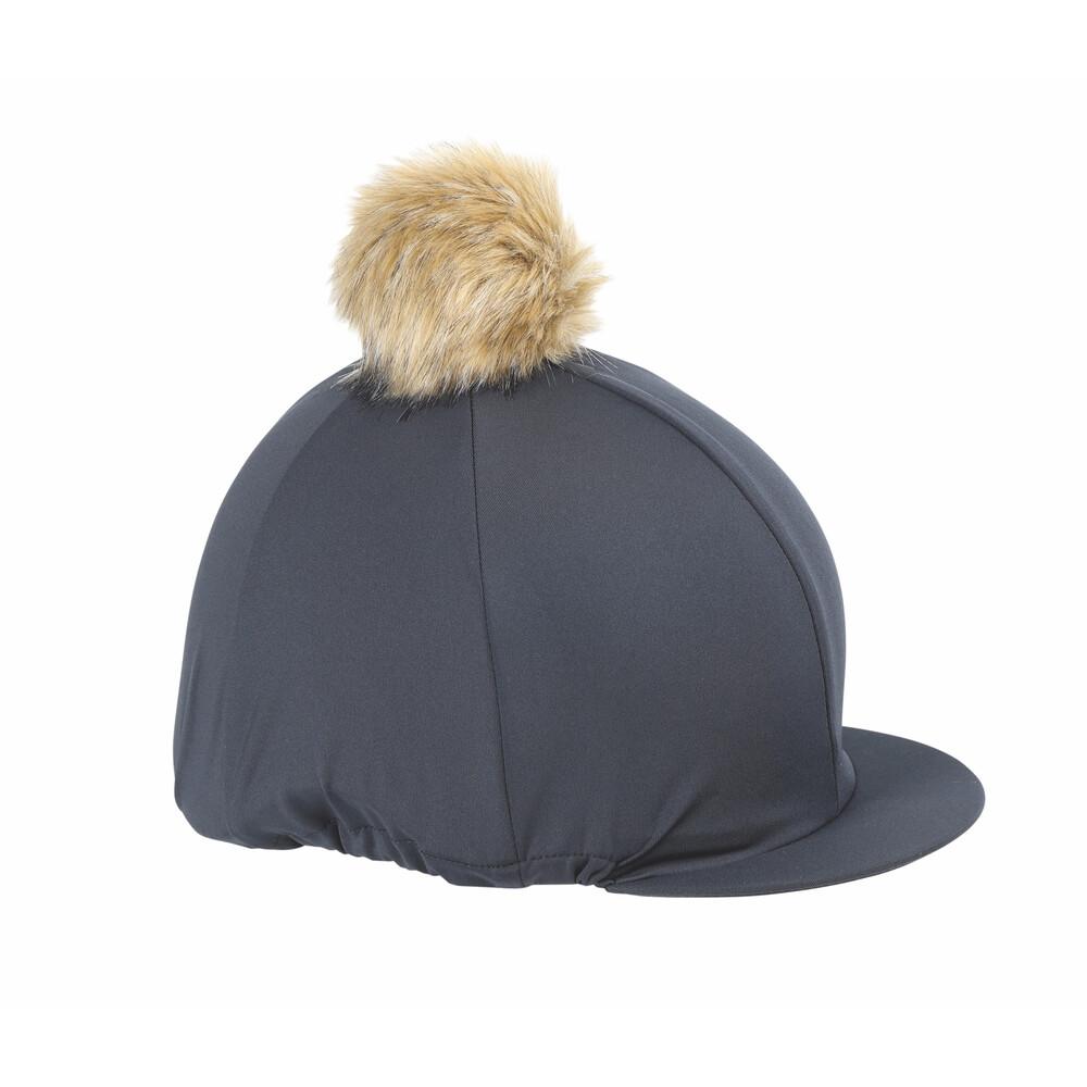 Shires Pom Pom Hat Cover in Black