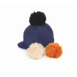 Shires Switch It Pom Pom Hat Cover in Navy