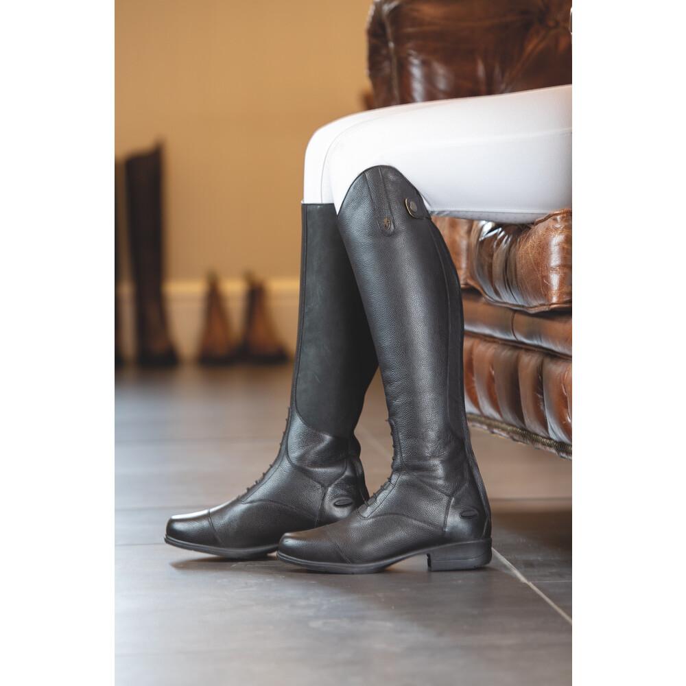 Moretta Albina Riding Boots - Ladies - Extra Wide in Black