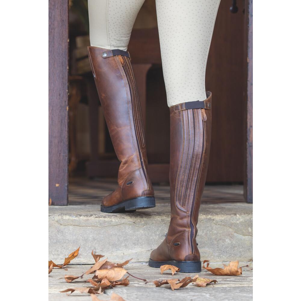 Moretta Ventura Riding Boots - Ladies - Wide in Brown