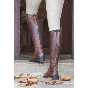 Moretta Ventura Riding Boots - Ladies - Extra Wide in Brown