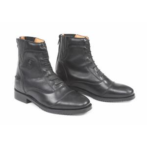 Moretta Teresa Lace Paddock Boots-Ladies in Black
