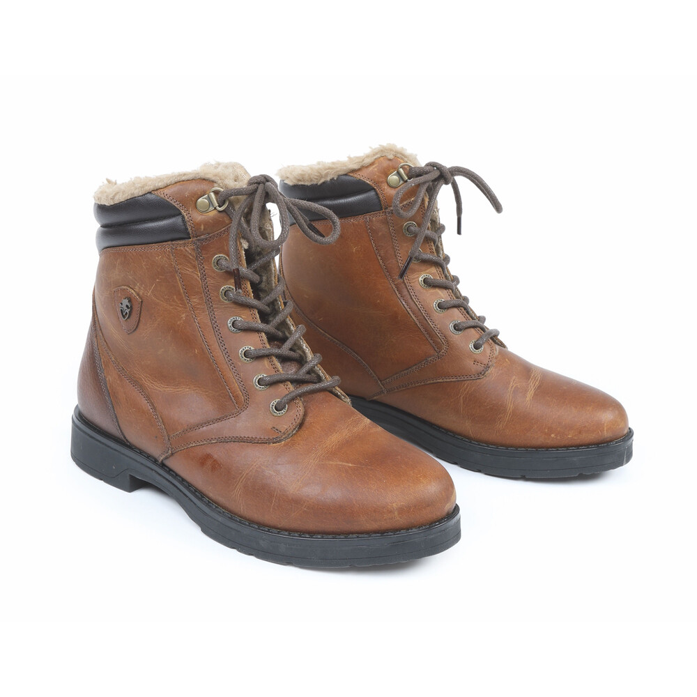 Moretta Ottavia Country Boots-Ladies in Brown