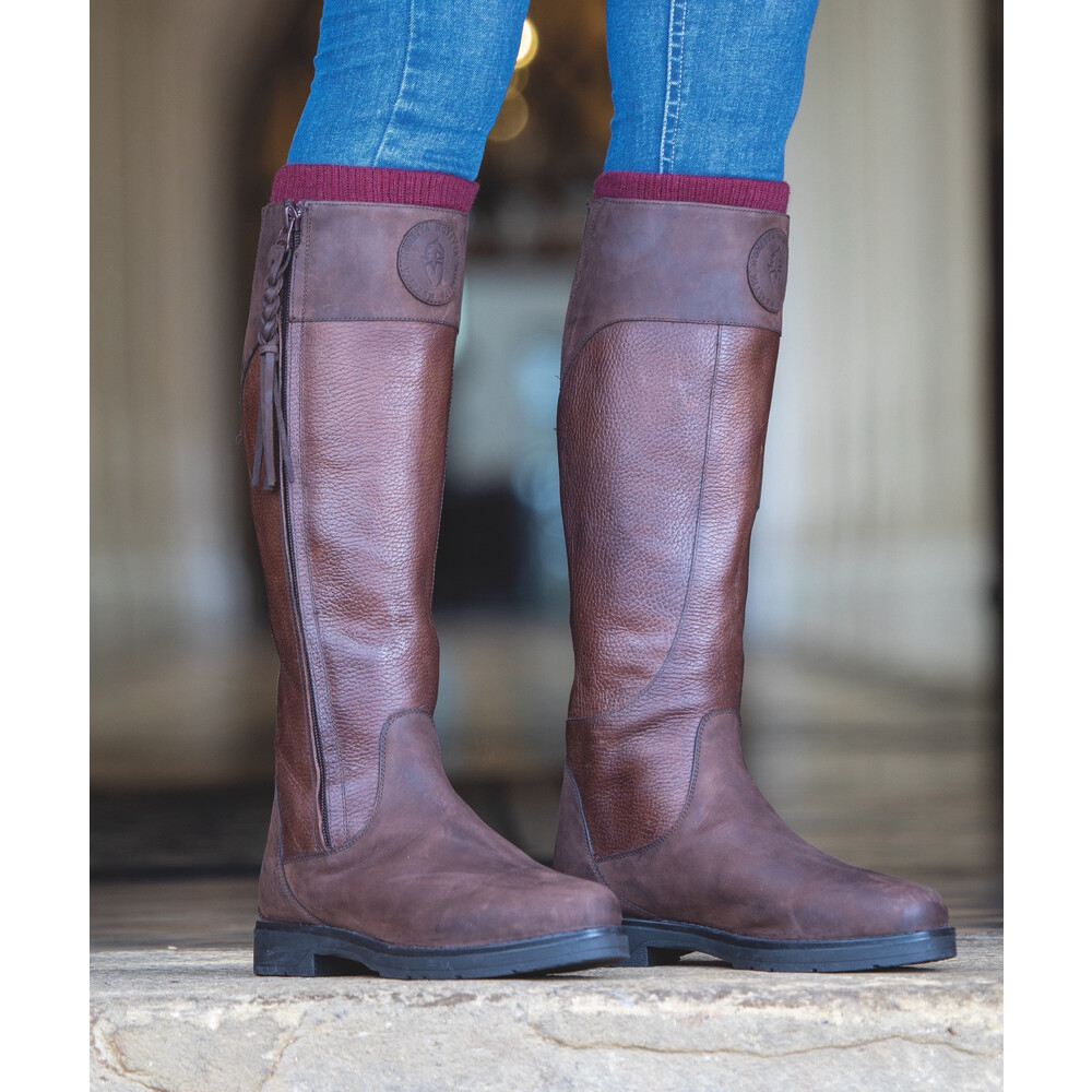 Moretta Pamina Country Boots - Ladies - Wide in Brown