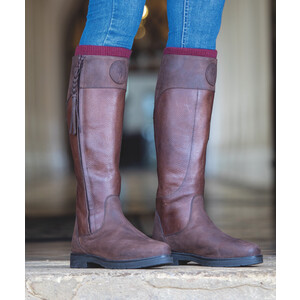 Moretta Pamina Country Boots - Ladies - Extra Wide in Brown