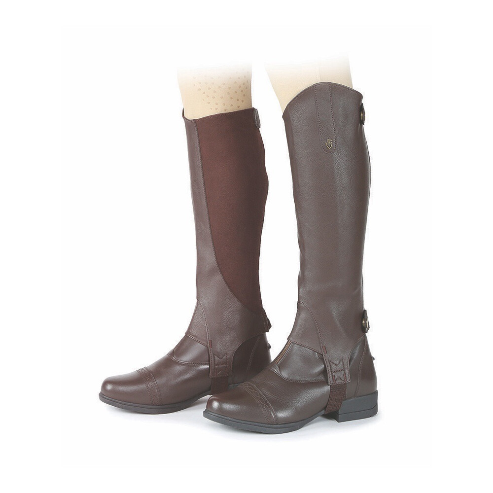 Moretta Synthetic Gaiters - Adult - Short in Brown