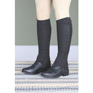 Moretta Amara Half Chaps - Adult - Short in Black