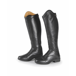 Moretta Luisa Riding Boots - Extra Wide in Black