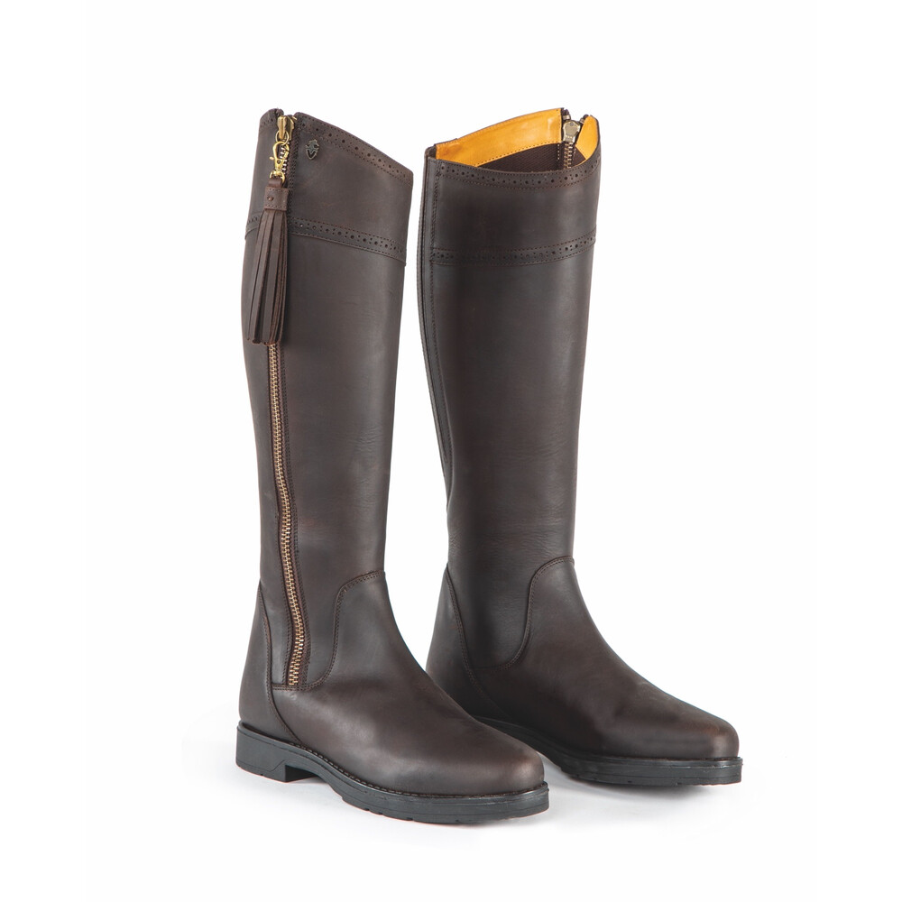 Moretta Alessandra Country Boots - Regular in Chocolate