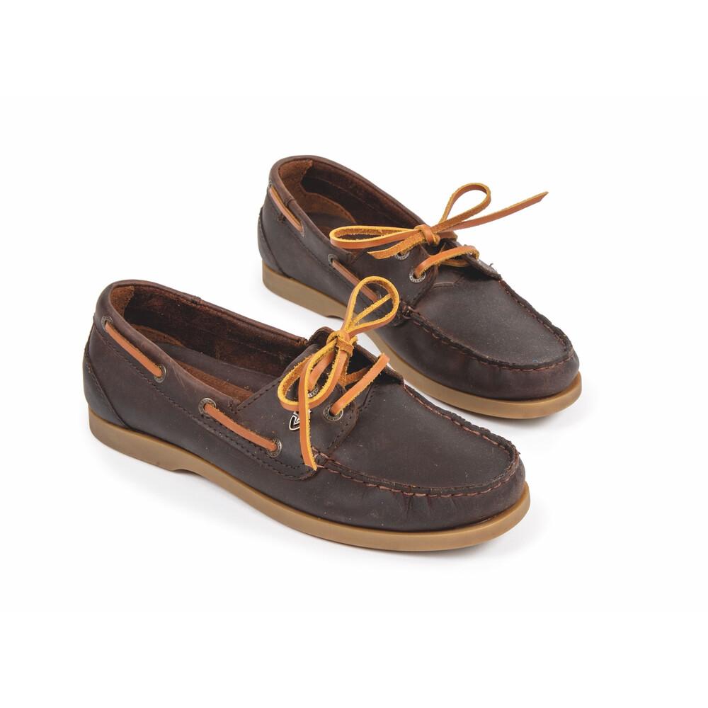 Moretta Avisa Deck Shoes in Chestnut