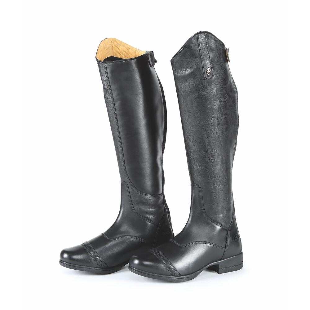 Moretta Aida Riding Boots - Wide in Black