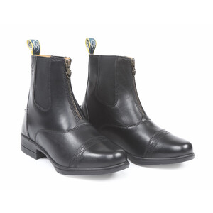 Moretta Rosetta Paddock Boots in Black