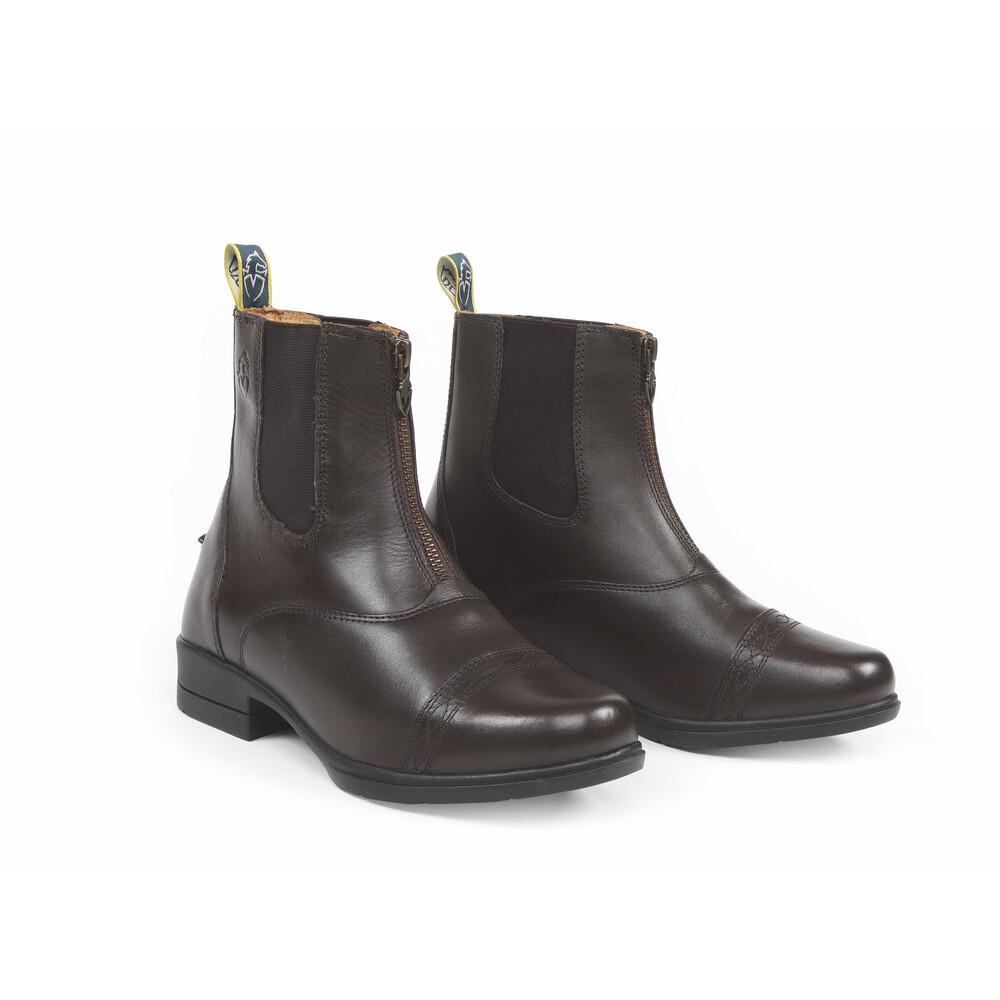 Moretta Rosetta Paddock Boots in Brown