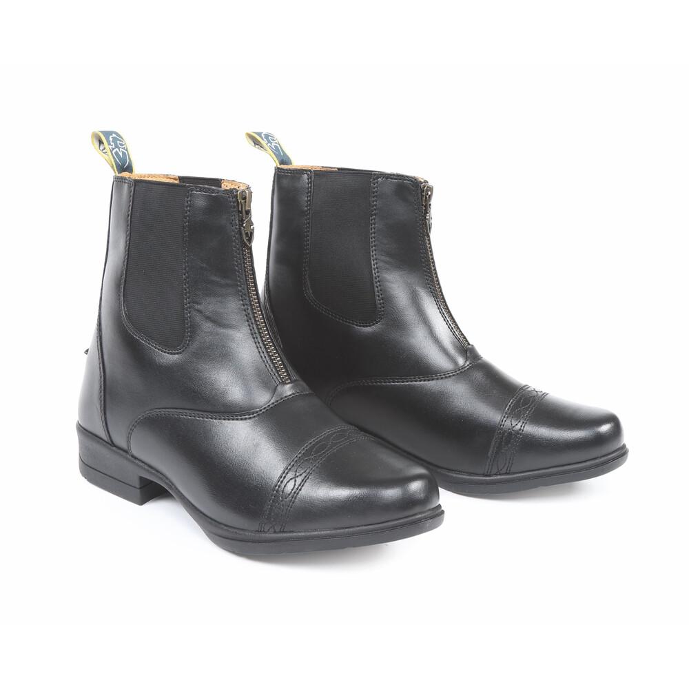 Moretta Clio Paddock Boots in Black