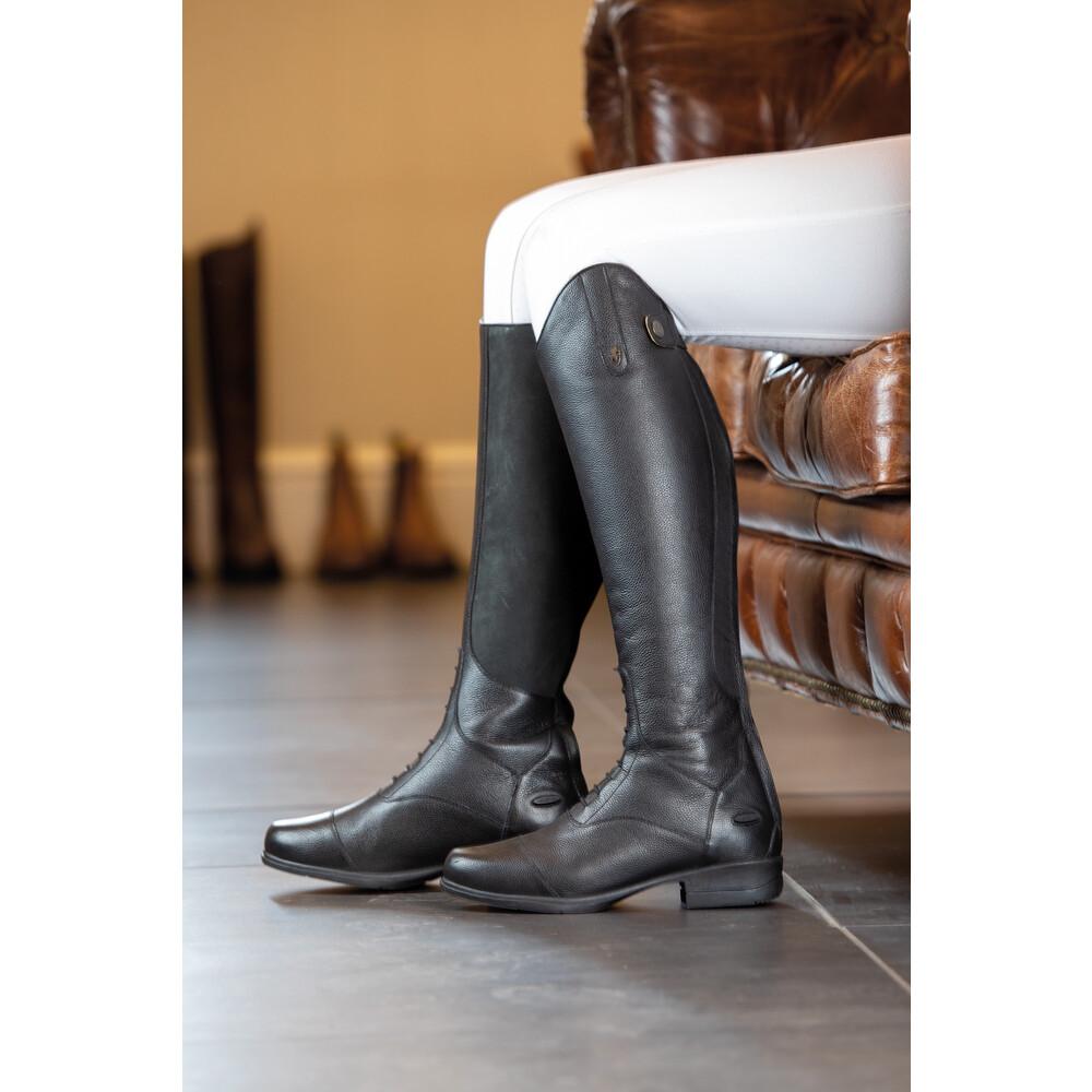 Moretta Albina Riding Boots - Children in Black