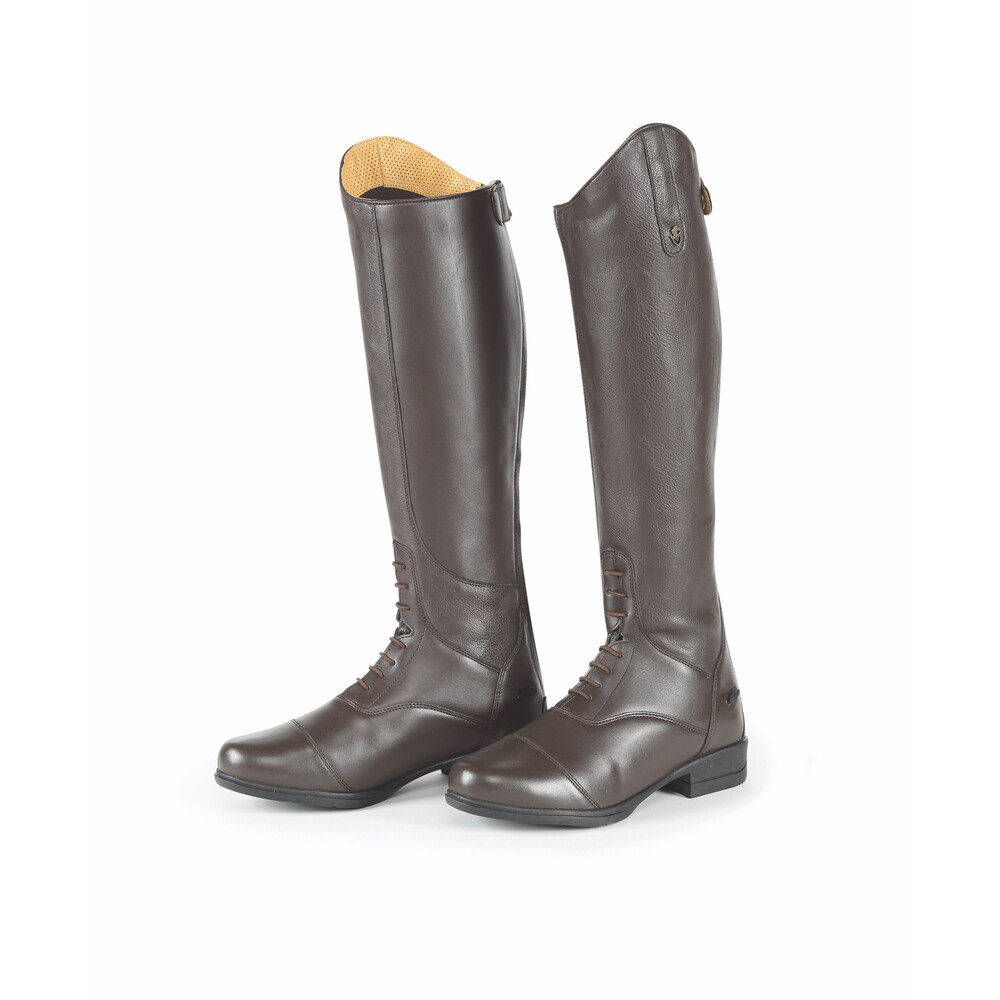 Moretta Gianna Riding Boots - Childs in Brown