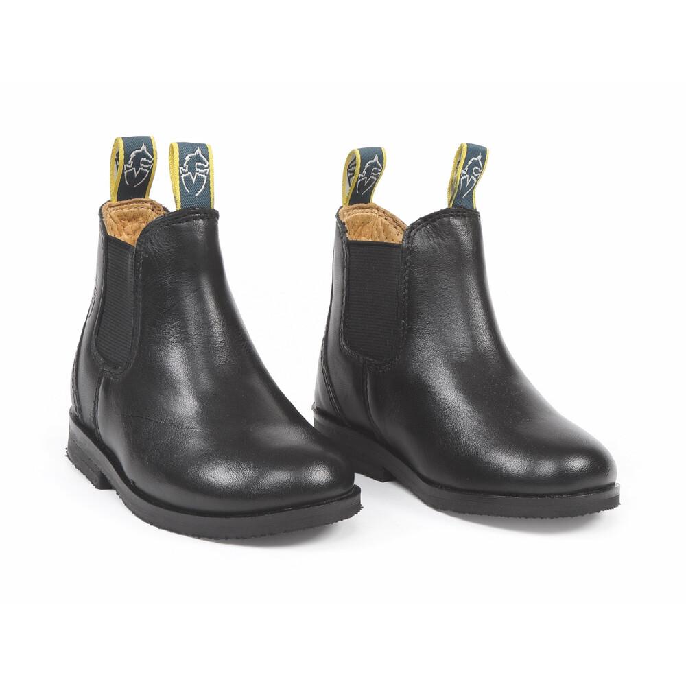 Moretta Fiora Jodhpur Boots - Childs in Black