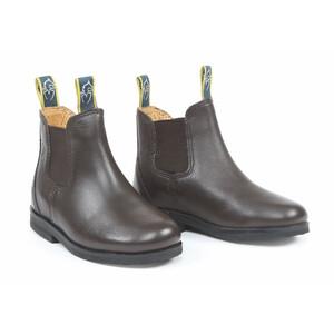 Moretta Fiora Jodhpur Boots - Childs in Brown