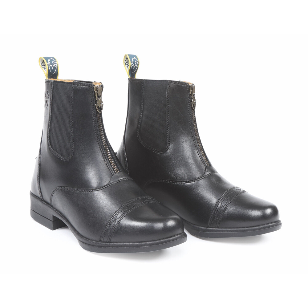 Moretta Rosetta Paddock Boots - Childs in Black