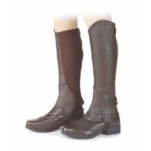 Moretta Synthetic Gaiters - Childs in Brown