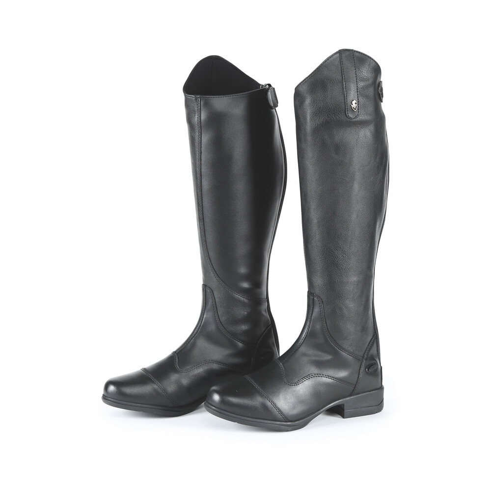 Moretta Marcia Riding Boots - Childs in Black