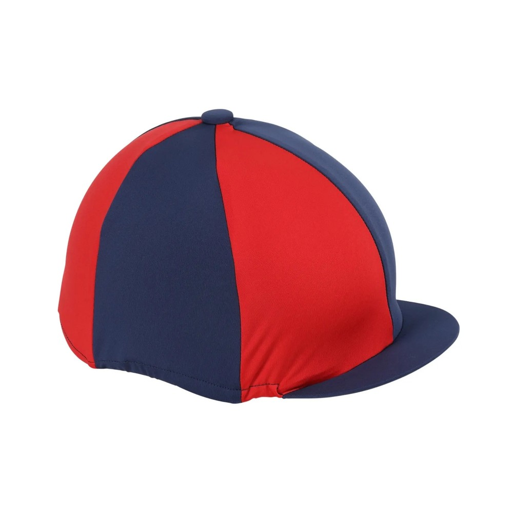 Shires Hat Cover in Navy/Red
