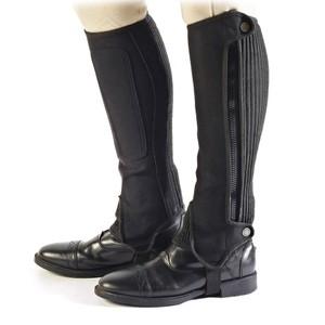 Bridleway Amara Half Chaps - Adults - Short in Black