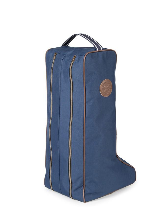 Bridleway Long Boot Bag in Navy