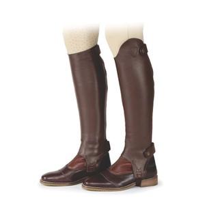 Moretta Leather Gaiters - Adults - Standard in Chestnut
