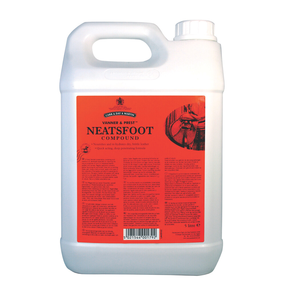 Carr & Day & Martin Neatsfoot Oil: 5L in Unknown