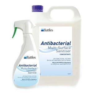 Battles Anti Bacterial Multi-Surface Sanitiser