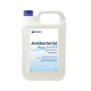 Battles Anti Bacterial Multi-Surface Sanitiser in Unknown