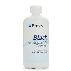 Battles Black AntiBacterial Powder -  125g in Unknown